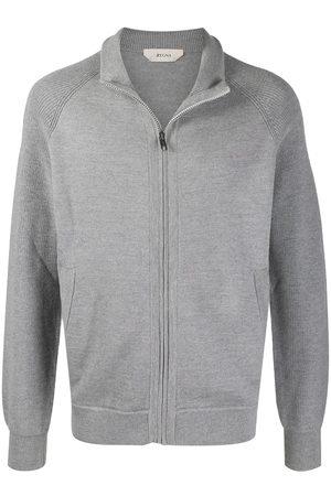 Z Zegna Muži Ke krku - High-neck zipped jacket