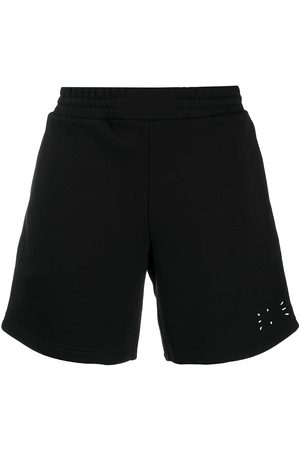mcq swallow Cotton track shorts