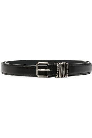 Saint Laurent Leather buckle belt