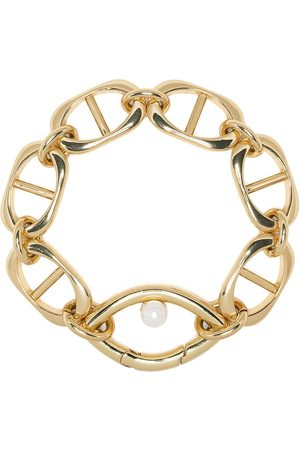 CAPSULE ELEVEN Chain pearl bracelet