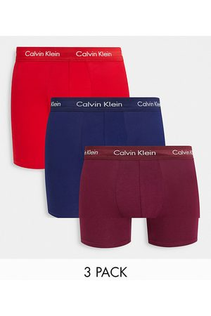 Calvin Klein 3 pack cotton stretch boxer briefs-Multi
