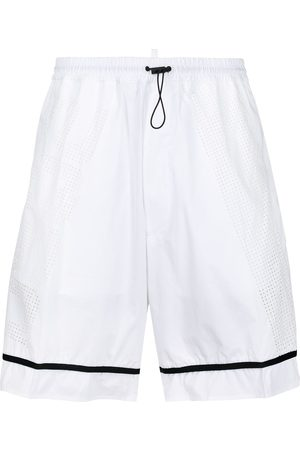 Dsquared2 Perforated logo track shorts