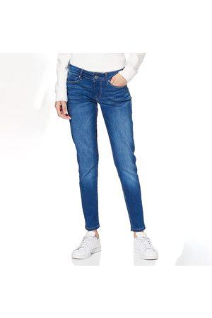 Pepe Jeans Ženy Kalhoty - Dámské modré džíny Soho