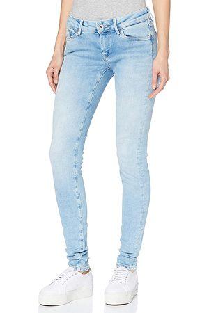 Pepe Jeans Ženy Kalhoty - Dámské světle modré džíny Soho