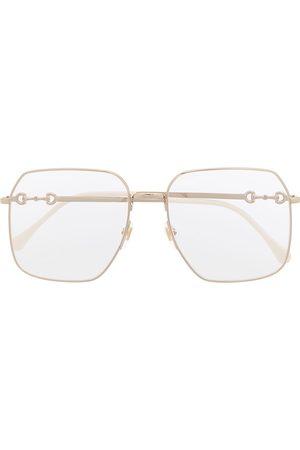 Gucci Square-frame oversized glasses
