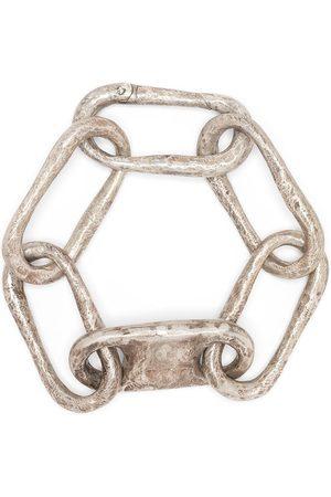 PARTS OF FOUR Roman Large Link bracelet