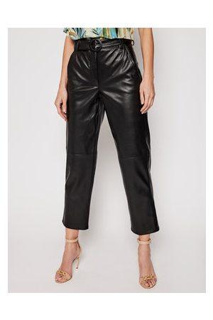 MARELLA Kožené kalhoty