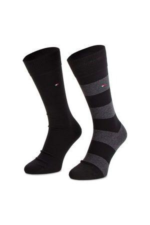 Tommy Hilfiger Sada 2 párů vysokých ponožek unisex