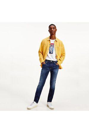 Tommy Hilfiger Muži Kalhoty - Pánské modré džíny