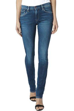 Pepe Jeans Ženy Kalhoty - Dámské tmavě modré džíny.
