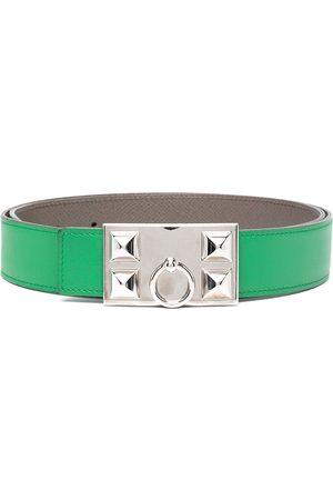 Hermès 2010 pre-owned studded belt