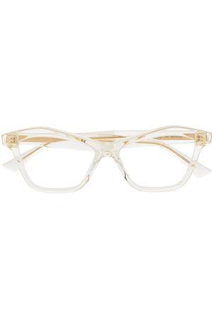 Bottega Veneta Cat-eye clear glasses