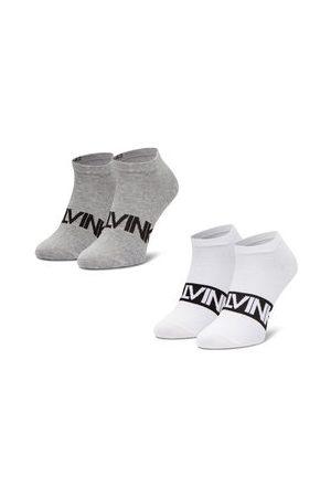 Calvin Klein Muži Ponožky - Sada 2 párů pánských nízkých ponožek