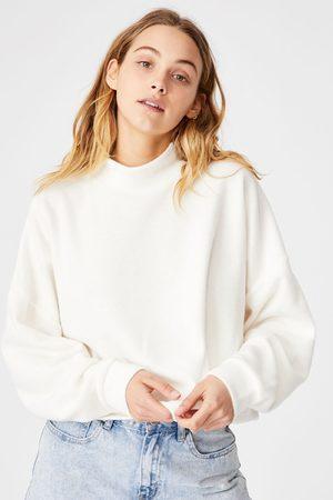 Cotton On Ženy Mikiny bez kapuce - Dámská mikina Brina Oversized