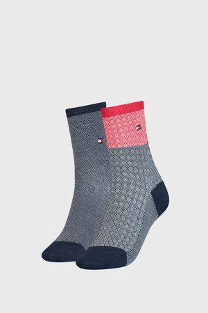 Tommy Hilfiger 2 PACK dámských ponožek Argyle I