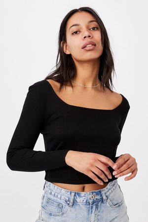 Cotton On Dámské basic triko s dlouhým rukávem Serena