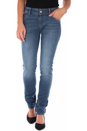 Pepe Jeans Ženy Kalhoty - Dámské modré džíny Newbrooke