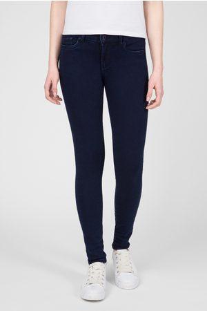 Pepe Jeans Ženy Kalhoty - Dámské tmavě modré džíny Pixie