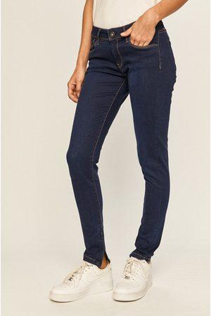Pepe Jeans Ženy Kalhoty - Dámské tmavě modré džíny Cher