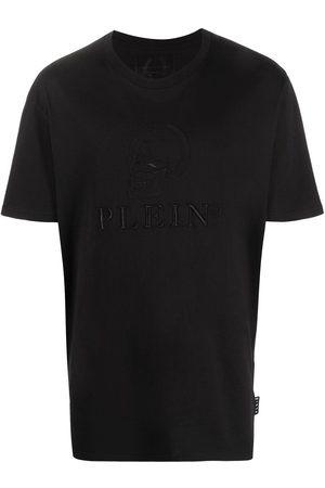 Philipp Plein Embroidered skull T-shirt