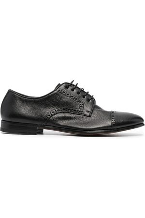 HENDERSON BARACCO Perforated-detail derby shoes