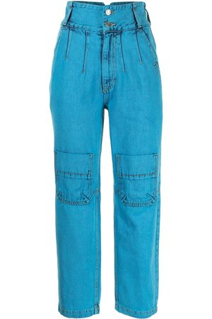 SJYP High-waisted cropped jeans