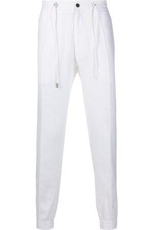 Philipp Plein Linen jogging trousers