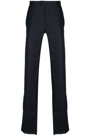 BILLIONAIRE Crest embroidery straight-fit trousers