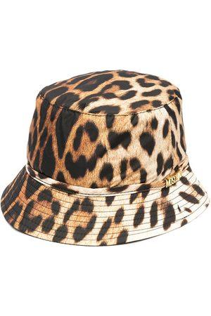 Moschino Leopard-print bucket hat