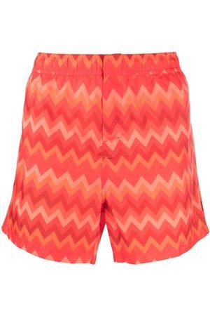 Missoni Zigzag-print swimming shorts