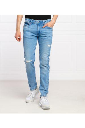 Pepe Jeans Muži Džíny - Pánské modré džíny Hatch
