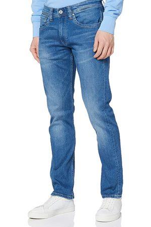 Pepe Jeans Muži Džíny - Pánské modré džíny Cash