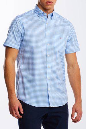 Gant Muži S krátkým rukávem - Košile Reg Broadcloth Gingham Ss Bd