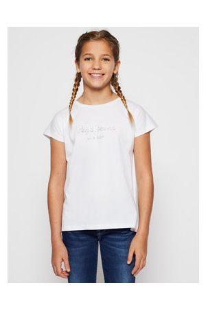 Pepe Jeans Dívky S límečkem - T-Shirt