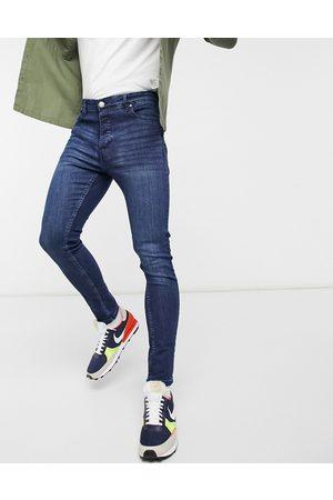 Brave Soul Muži Skinny - Ultimate skinny jeans in dark blue