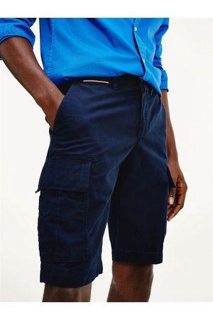 Tommy Hilfiger Muži Šortky - Pánské tmavě modré šortky John