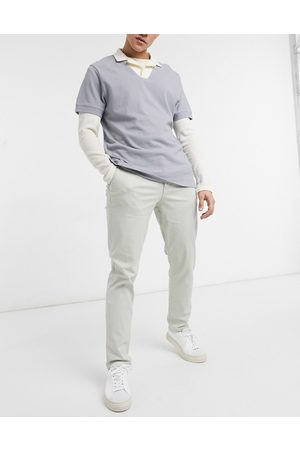 Selected Straight chino in beige
