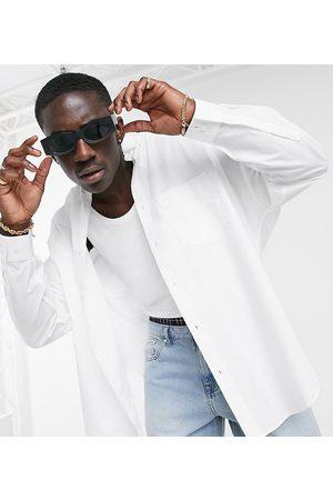 ASOS Extreme oversized dad shirt in white