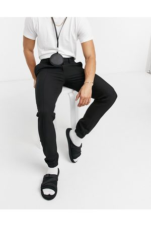 ASOS Smart skinny jogger co-ord in black crepe
