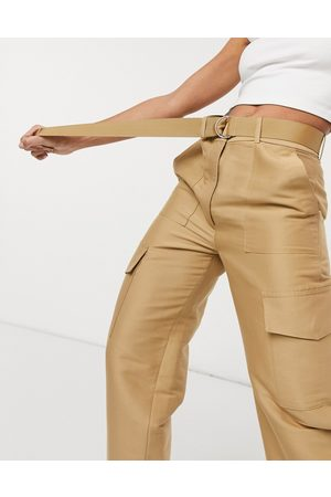 & OTHER STORIES Utility pocket trousers in beige