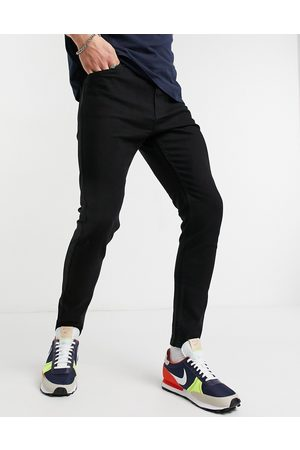 Bershka Super skinny fit jeans in black
