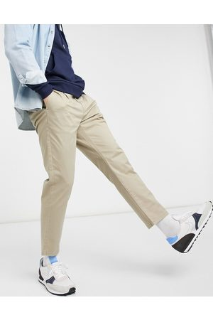 Only & Sons Muži Chino - Chino in slim fit cropped stone