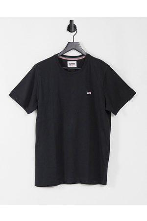 Tommy Hilfiger Flag logo t-shirt in black