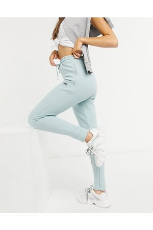The Couture Club Archive logo high waisted tracksuit joggers-Blue