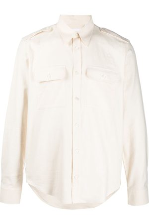 Helmut Lang Long-sleeved strappy shirt