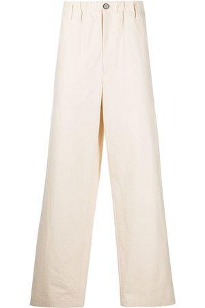 Jil Sander Straight-leg cotton trousers