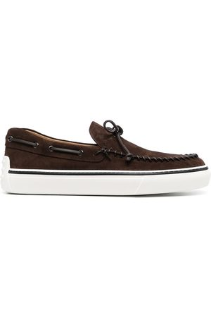 Tod's Bow-detail boat shoes