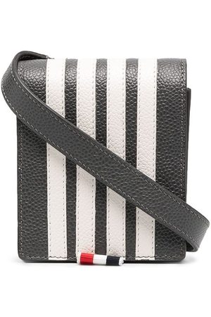 Thom Browne 4-bar appliqué Galaxy Z phone holder