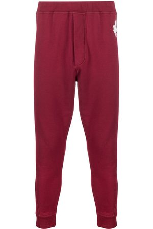 Dsquared2 Logo-print tapered track pants