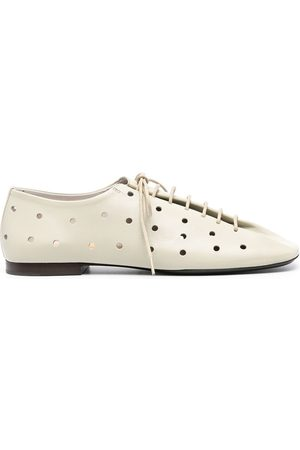 LEMAIRE Perforated lace-up derby shoes